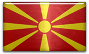 FYR of Macedonia Flag