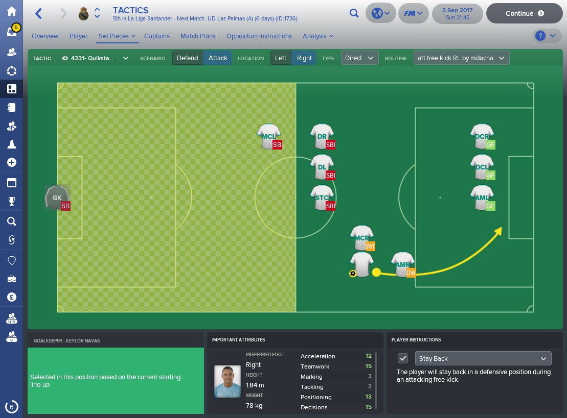 NEW !!! Best (Set Pieces) corner and free kick ever by mdacha