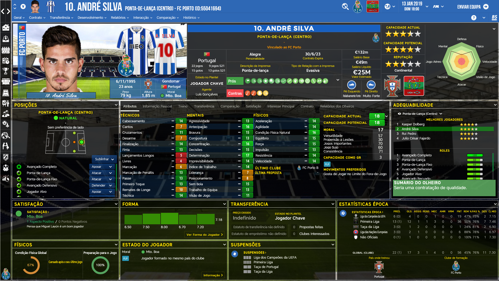 Real Football Manager 2018 With Real Player Names Jar